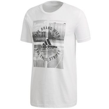 adidas Herren Baumwoll T-Shirt Tee – Bild 1
