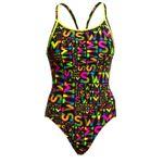 Funkita Badeanzug für Damen Night Swim