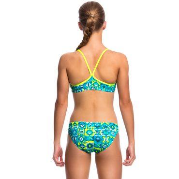 Funkita Bikini Mädchen Lime Light aus C-Infinity-Gewebe und UV-Schutz 50+ – Bild 3