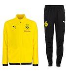 Puma BVB Borussia Dortmund Herren Jogginganzug Sportanzug Saison 2018 2019 001