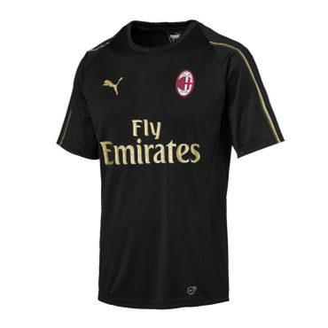 Puma AC Milan Trainings Trikot SS with Sponsor 2018 - 2019 Herren – Bild 1