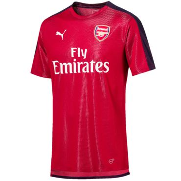 Puma AFC Stadium Arsenal London Aufwärm Trainings Trikot with Sponsor 2018 - 2019 – Bild 1