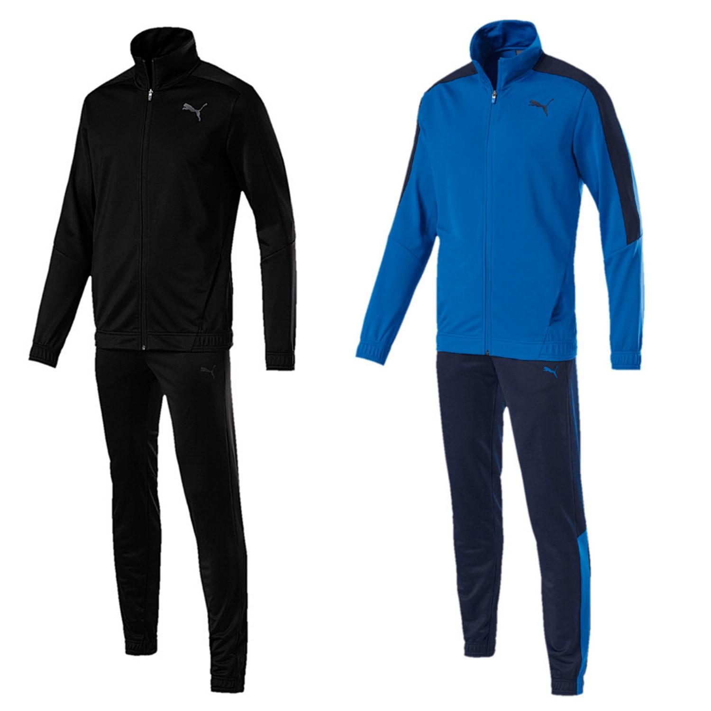 0ce898611939a Puma Techstripe Tricot Suit CL Trainingsanzug Herren Fußball Sportanzug