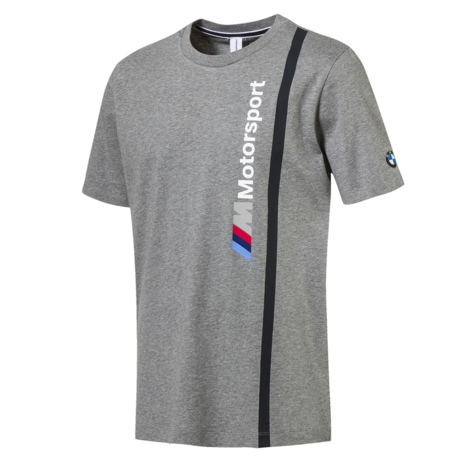 puma bmw m motorsport herren logo t shirt sportarten. Black Bedroom Furniture Sets. Home Design Ideas
