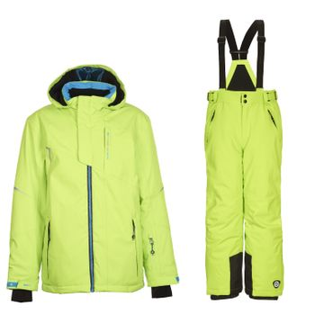 Killtec Skianzug Ximo Jr. für Kinder Jungen und Mädchen Wasserabweisend, Winddicht, abnehmbarer Kapuze und Skipasstasche – Bild 4