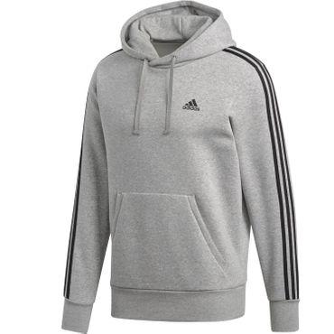 adidas ESS 3S Streifen Fleece Hoodie Kapuzenpullover Herren – Bild 2