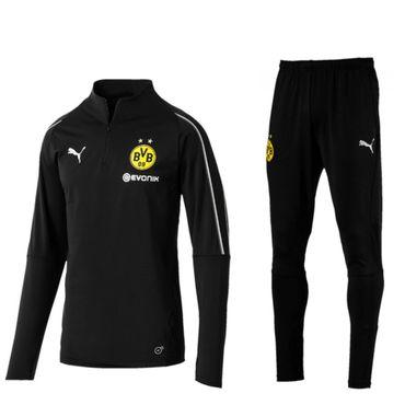 Puma BVB Borussia Dortmund Jogginganzug Herren der Saison 18-19 – Bild 7