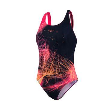 Speedo Damen Badeanzug HeatShine Powerback – Bild 1
