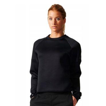 adidas Damen Sweatshirt Daybreaker schwarz Sportpullover – Bild 2