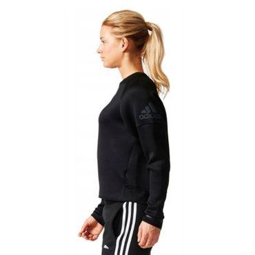 adidas Damen Sweatshirt Daybreaker schwarz Sportpullover – Bild 4