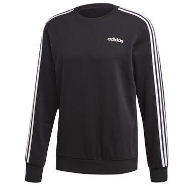 adidas Pullover Herren schwarz mit 3 Streifen – Bild 1