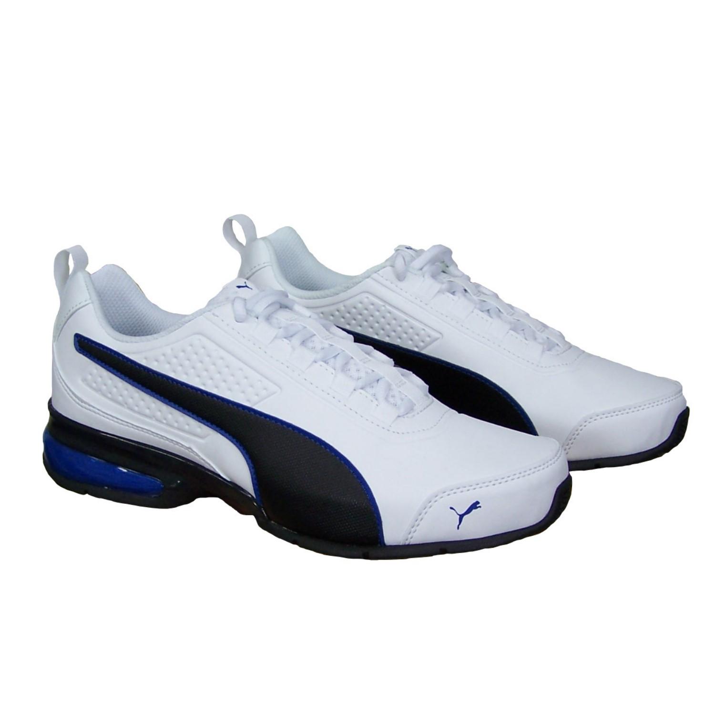 a09367b1818161 Puma Herren Schuhe weiß Leader VT SL Herrenbekleidung Schuhe