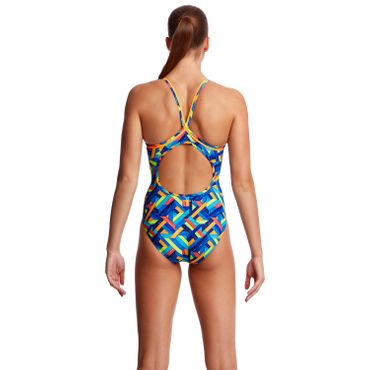 Funkita Badeanzug Damen Boarded Up – Bild 3
