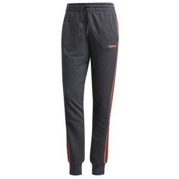 adidas Jogginghose Damen 3 Streifen Pant mit elastischem Beinabschluss – Bild 1