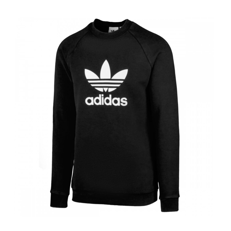 Pullover für Herren von adidas Originals schwarz 100% Baumwolle | sieger preise