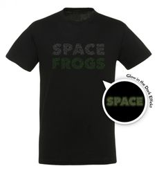 Space Frogs - Space Logo -T-Shirt