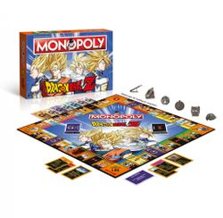 Dragon Ball Z - Monopoly - Brettspiel - Deutsch Bild 2