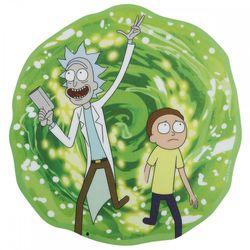 Ein Mauspad in Form eines Portals aus Rick and Morty. Rick ist der Großvater von Morty. Er zieht seinen Enkel immer wieder in wilde Abenteuer. Meist beginnt es damit, das Rick ein Portal mit seiner Portalgun erzeugt und somit ein Portal in eine andere Dimension öffnet. Ein dieser sieht man auf diesem Mauspad.