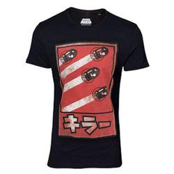 Originales Bullet Kanji T-Shirt in Schwarz aus 100 % Baumwolle mit den Bullets aus Super Mario auf der Front.