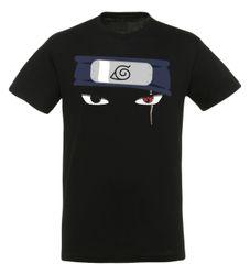 Naruto Herren Kakashi Eyes  T-Shirt aus 100% Baumwolle. Hol dir jetzt das Shirt zum Kult-Manga bei yvolve!