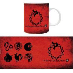 Seven Deadly Sins - Symbole - Tasse Bild 3