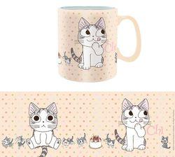 Kleine Katze Chi - Nimmersatt - XXL-Tasse Bild 5
