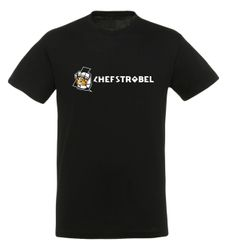 Chefstrobel Logo Merch, der Artikel für jeden Youtube Fan.