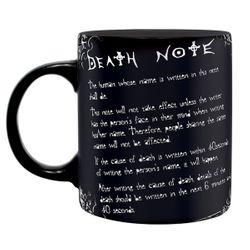 Death Note - Die Regeln - Tasse Bild 2