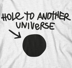 yvolve - Hole to another Universe - T-Shirt - inspired by Life Is Strange Bild 2