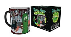 Rick and Morty - Pickle Rick - Farbwechsel-Tasse
