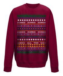 TheKedosZone - Zoned - Christmas Sweater Offizielles YouTube Merchandise   in Schwarz aus Baumwolle by yvolve