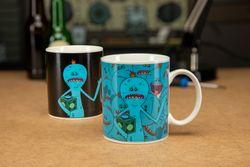 Rick and Morty - Mr. Meeseeks - Farbwechsel-Tasse Bild 2