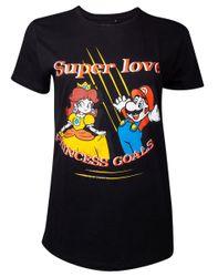 Nintendo - Princess Goals - T-Shirt