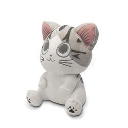 Kleine Katze Chi - Big Eyes - Kuscheltier (30 cm)