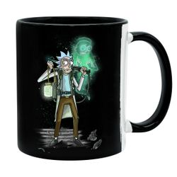Rick and Morty - Ghost Morty - Tasse