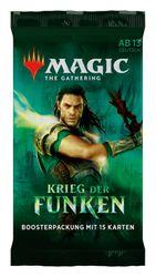 Magic the Gathering - Krieg der Funken - Booster Packs DE Bild 3