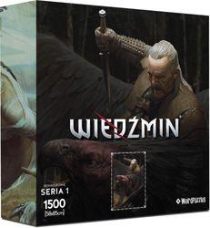 The Witcher - Vesemir - Puzzle inkl. Poster und Tasche