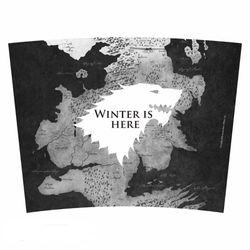 Game of Thrones - Winter is here - Thermobecher Bild 2