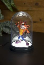 Crash Bandicoot - Crash Kuppel - Tischlampe Bild 4