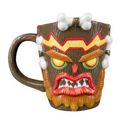 Crash Bandicoot - Uka Uka - Tasse