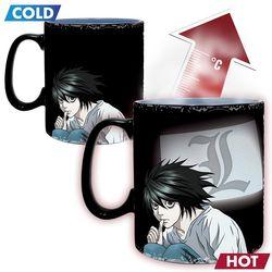 Death Note - Kira & L - XXL-Farbwechseltasse Bild 2