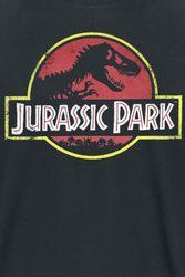 Jurassic Park - Classic Logo - T-Shirt Bild 2