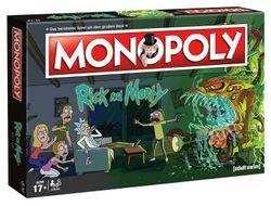 Rick and Morty - Monopoly - Brettspiel - Deutsch