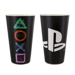 Playstation - Buttons - Trinkglas