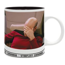 Star Trek - Picard Facepalm - Tasse