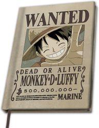 One Piece - Monkey D Luffy - Notizbuch