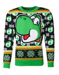 Super Mario - Yoshi - X-mas - Sweater