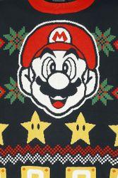 Super Mario - Merry Christmas - X-mas - Sweater Bild 3