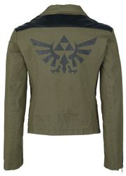 The Legend of Zelda - Black Triforce - Bikerjacke Bild 3