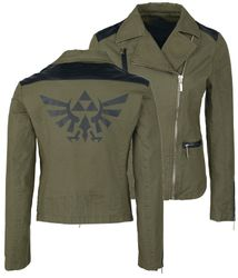 The Legend of Zelda - Black Triforce - Bikerjacke Bild 1